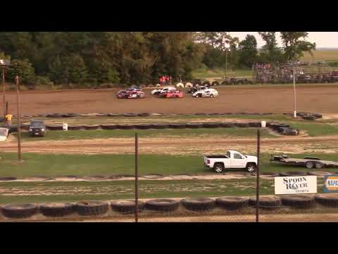 Spoon River Speedway UMP Modified heat race. 8/26/2017