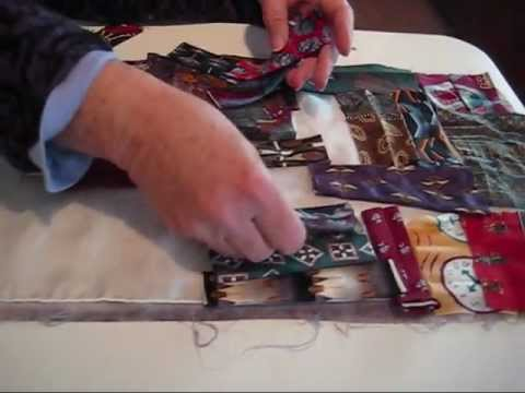 Using Silk Ties To Create Beautiful Scarves By Pat Statzer Wmv