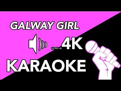 Galway Girl - Ed Sheeran Instrumental - Best Quality Karaoke in 4K