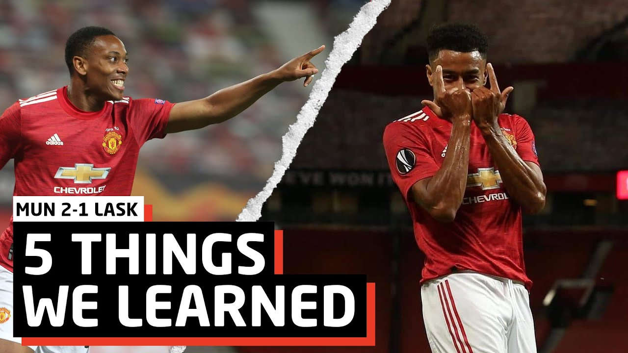 3 Wins Away From A Trophy! | 5 Things We Learned Vs LASK | MUN 2-1 LASK