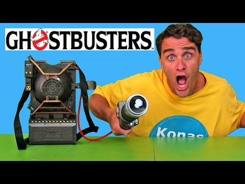 Ghostbusters Proton Pack Projector Toy Review