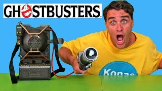 Ghostbusters Proton Pack Projector ! || Toy Review || Konas2002