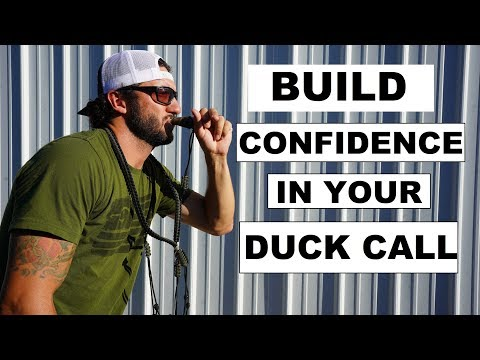 How to Blow a Duck Call for Beginner Duck Hunters
