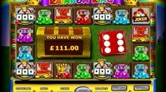 Rainbow King Slot Machine Bonus Rounds And Big Wins Played Online