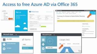 Creating a Single Sign on Web Portal using Azure