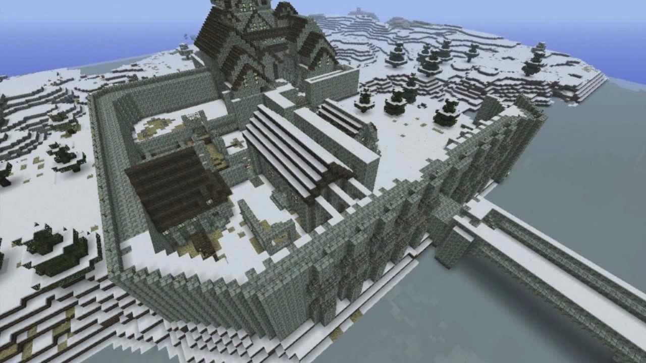 Russian Minecraft Timelapse Vii Windhelm Youtube