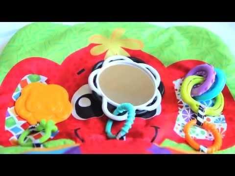 Playgro - Elephant Hugs Activity Pillow