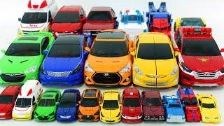 Carbot Transformers Big and Mini Vehicle Transformation Robot Car Toys 헬로카봇 트랜스포머 22대 자동차 로봇 변신 동영상
