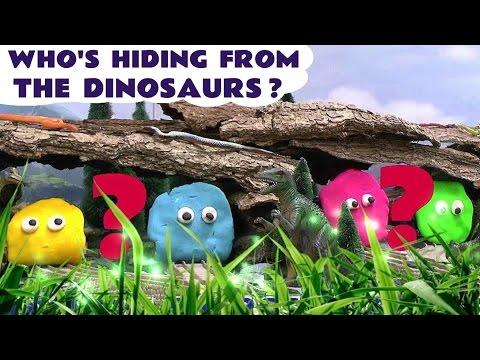 Thomas And Friends Dinosaur Play Doh Thomas Y Sus Amigos Play-Doh Who's Hiding Thomas Toys