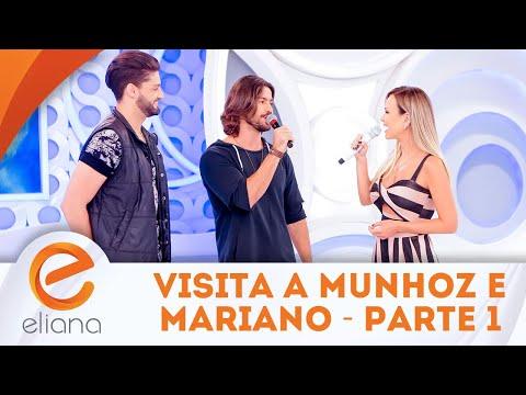 Visita a Munhoz e Mariano - Parte 1 | Programa Eliana (15/04/18)