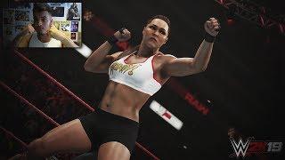ASÍ ES RONDA ROUSEY EN WWE 2K19 *IMAGEN OFICIAL*