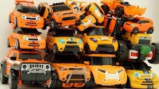 Full Tobot Robot Orange Car Color Transformers Athlon Rocky, Evolution, Tritan Mainan Toys Kids