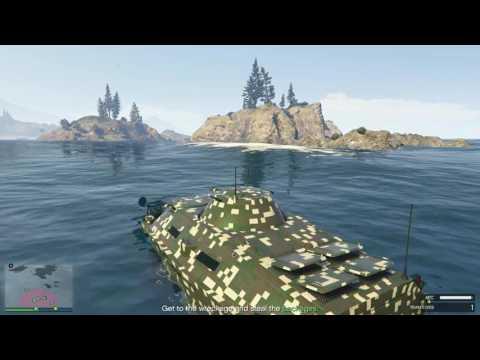 GTA5 GUNRUNNING DLC Offshore Assets Mission (AGENT 14) pt4
