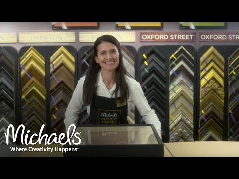 Custom Framing: Artist Carrie Seid Chooses Michaels