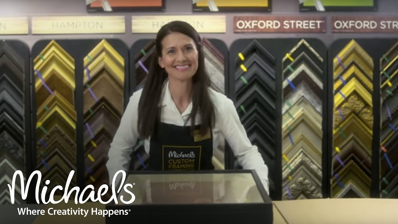 custom framing artist carrie seid chooses michaels