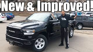 THE BRAND NEW 2019 Ram Review!! From A Tall Guys Perspective..