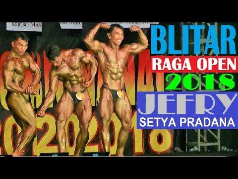 Jefry Setya Pradana, Banyuwangi - 5 Besar Blitar Raga Open 2018 #Bodybuilding60KG