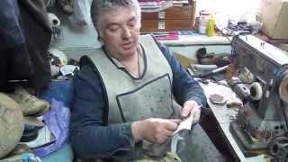 Как сшить мяч  1 часть(Мастер Виктор из Украины имеющий многолетний опыт пошивки и ремонта мячей демонстрирует процес ручной..., 2014-05-09T21:27:28.000Z)
