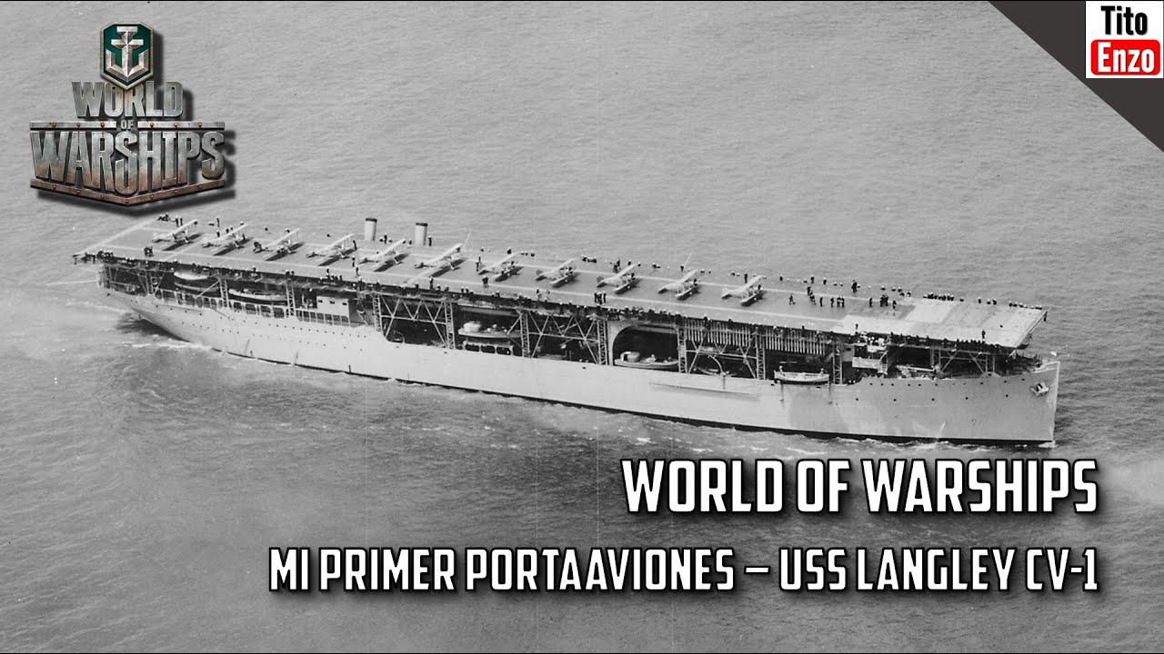 world of warships - mi primer portaaviones