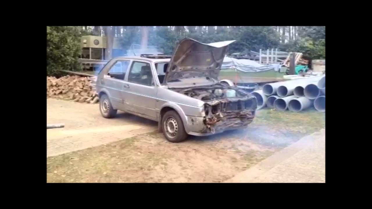 Vw Golf 2 Engine Blow Up