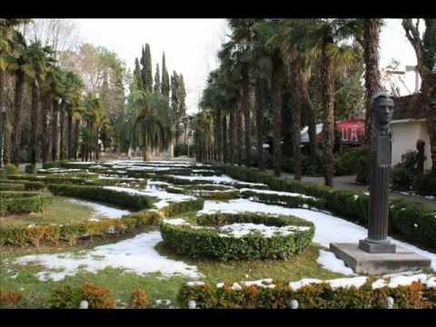 В Сочи выпал снег!.wmv