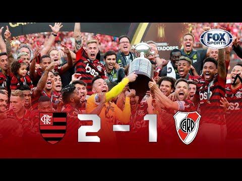 AMÉRICA DO SUL É RUBRO-NEGRA! Flamengo 2x1 River Plate - Final da Libertadores 2019 - Completo