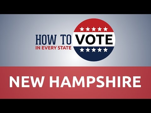 How to Vote in New Hampshire in 2018