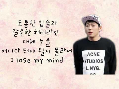 (+) 보기 드문 여자-Block B