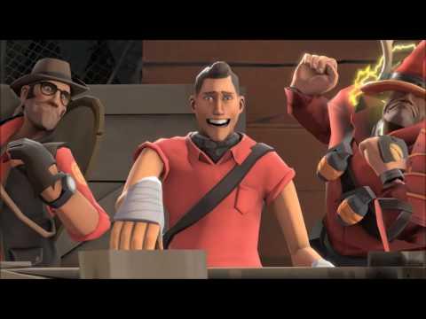 [SFM] Scout sings it's not unusual.