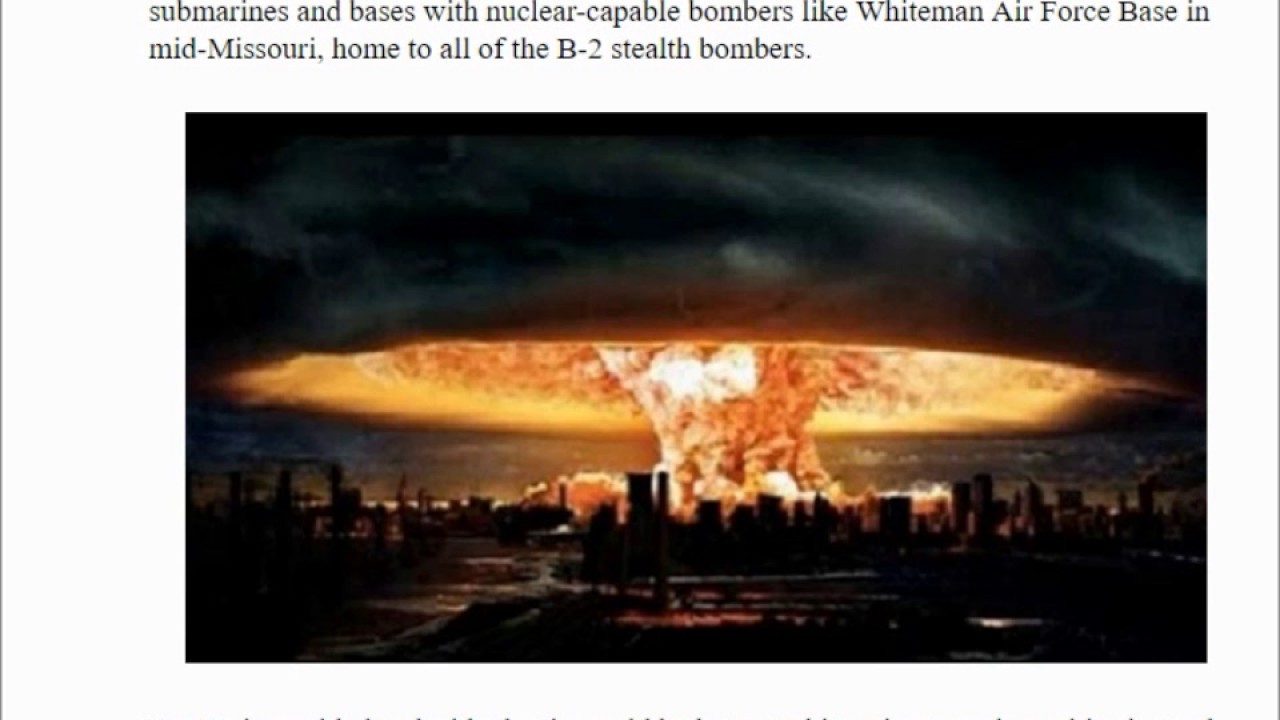 what happens in a nuclear war