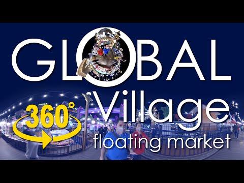 360 video | Global Village Floating Market Dubai