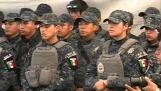Con la inauguración del Arco de Seguridad de Altepexi, inicia operaciones la Gendarmería en Puebla