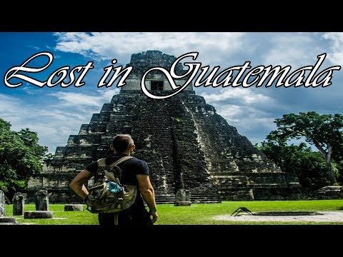 GUATEMALA TRAVEL VLOG - Exploring Antigua and Maya Ruins in Tikal/Flores