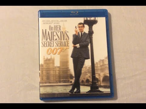 On Her Majesty's Secret Service (1969) - Blu Ray Review and Unboxing