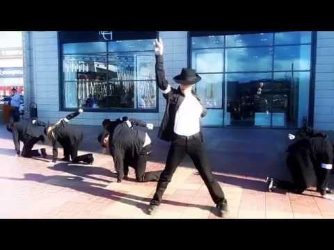 Видео: Пермь. Флэшмоб в день памяти Майкла Джексона. 25 июня 2014