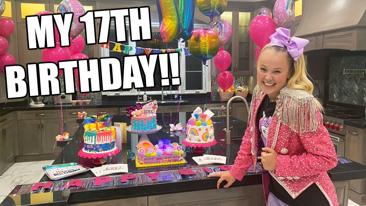 MY 17TH BIRTHDAY!! JoJo Siwa