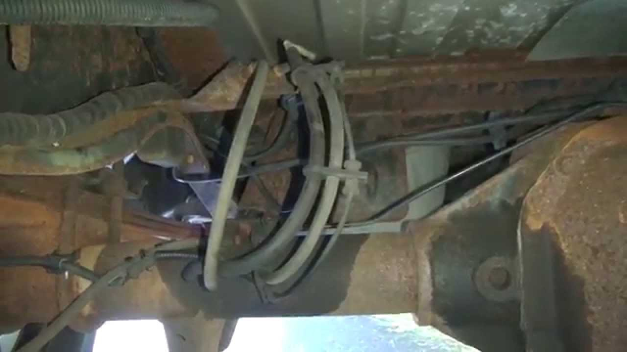 FORD Van & Truck Rear Axle Vent Hose Fix  FREE!!  YouTube