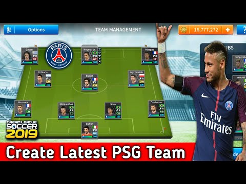 How To Create Psg Team In Dream League Soccer 2019 Youtube