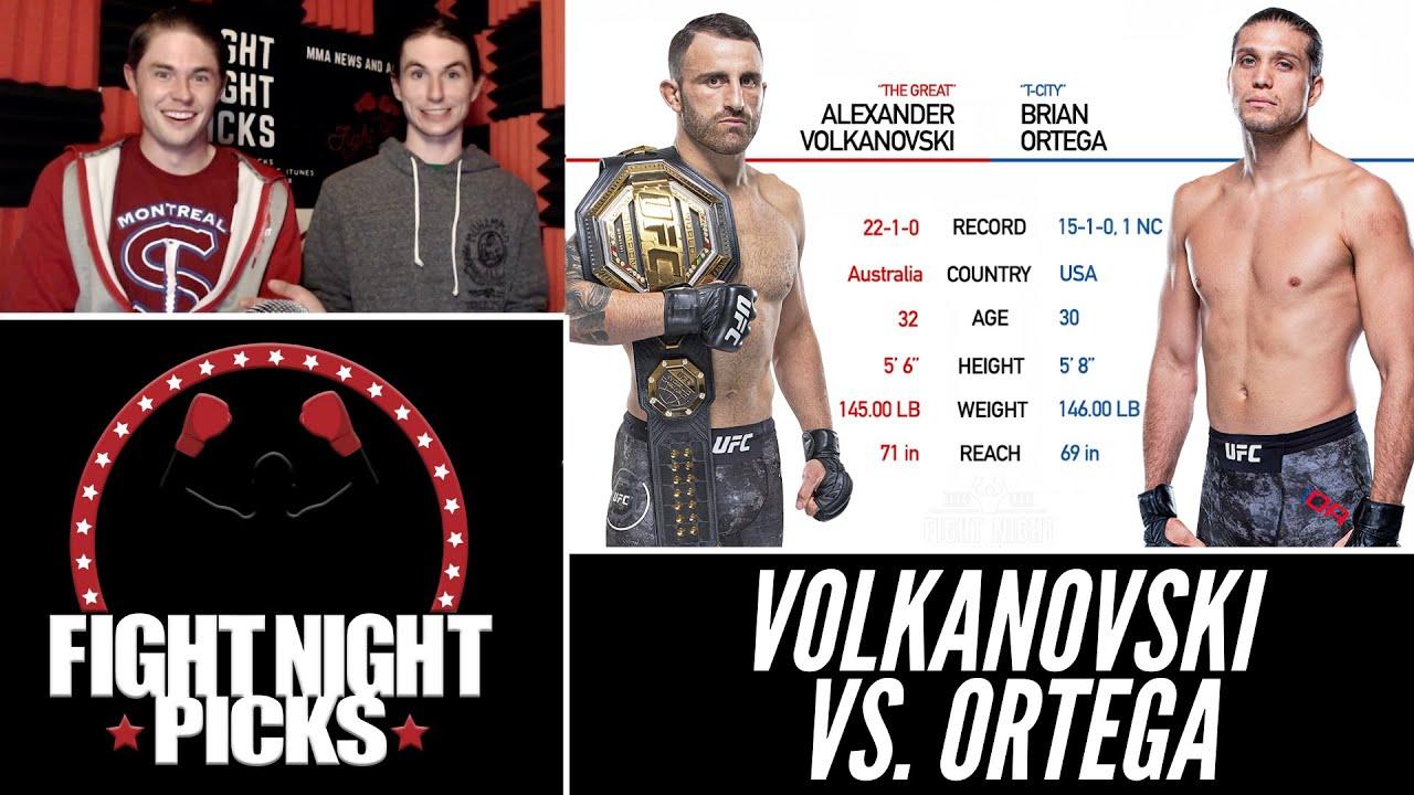 UFC 266 predictions -- Alexander Volkanovski vs. Brian Ortega ...