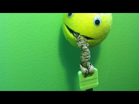 Make a Cute Tennis Ball Key Holder - Home - Guidecentral