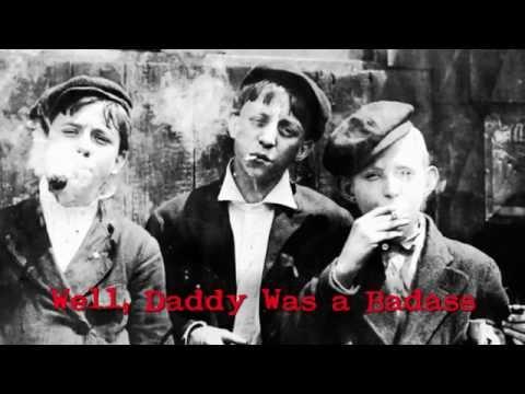 Jesse Dayton - Daddy Was a Badass (Official Lyric Video)