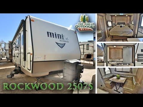 2017 FOREST RIVER ROCKWOOD 2507S R1058 Sales Colorado Dealer