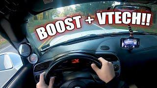 Driving An Insane 500hp Turbo S2000: POV 2003 AP1 Honda S2000