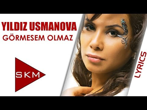 Yıldız Usmonova Feat.Fatih Erkoç - Görmesem Olmaz (Official Lyrics Video / Kinetic Typography)