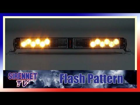 Model# SLPMMRR Whelen SlimLighter Super-LED Lightbar Red