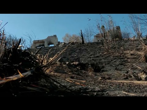 Despite order to evacuate, homeowner chose to stay through Woolsey fire