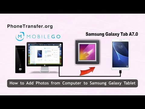 Photos to Galaxy Tab: Import Pictures from PC to Galaxy Tab