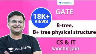 B-tree, B+ tree physical structure | CS & IT | Sanchit Jain