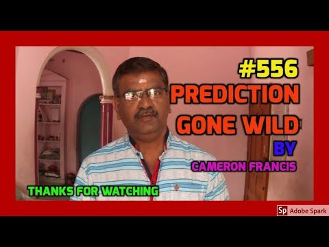 🔔MAGIC VIDEO TAMIL I💥MAGIC TRICK TAMIL #556 I PREDICTION GONE WILD