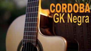 TEST Cordoba GK Studio Negra [flamenco guitar]